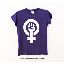 Camiseta Lucha Feminista modelo Chicas