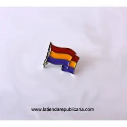 Pin Bandera Republicana Ondeando