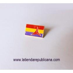 Pin Bandera Brigadas Internacionales