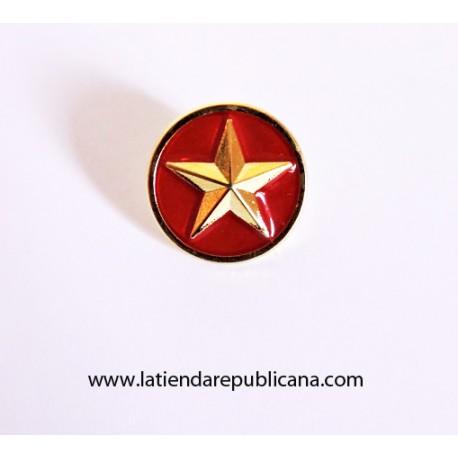 Pin Redondo Estrella Revolucionaria