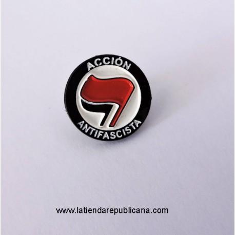 Pin Acción Antifascista