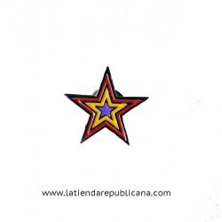Pin Estrella Tricolor