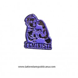 Pin Fuerza Feminista