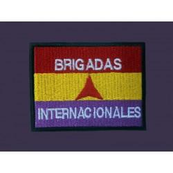 Parche Brigadas Internacionales Rectangular