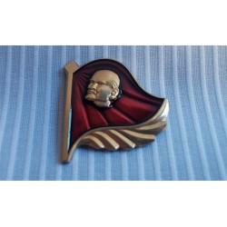 Pin Lenin Bandera Roja
