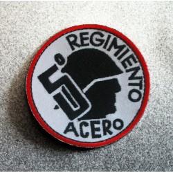 Parche Quinto Regimiento de Acero