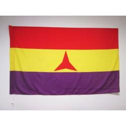 Bandera Republicana Brigadas Internacionales (Mate)
