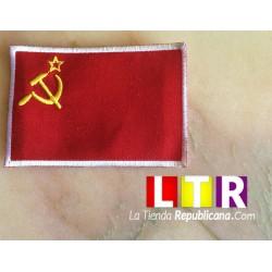 Parche Comunista Bandera URSS