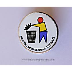 Pin Antimonárquico medio ambiente
