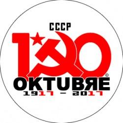 Chapa Centenario de la Revolución de Octubre