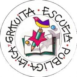 Chapa Escuela pública, laica y gratuita