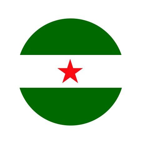 Chapa Bandera de Andalucía - Arbonaida
