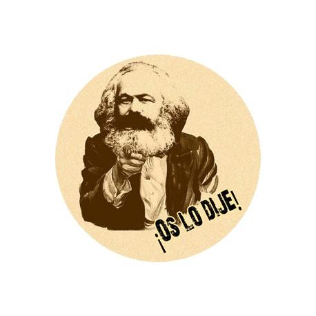 Chapa Comunista Marx-Engels-Lenin