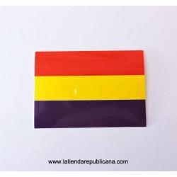 Pegatina Bandera Republicana