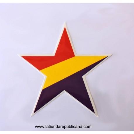 Pegatina Estrella Republicana