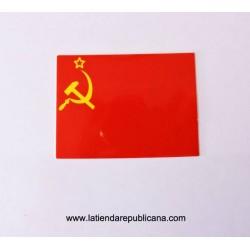 Pegatina Comunista Bandera URSS