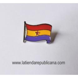 Pin Bandera Republicana con Estrella
