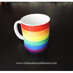 Taza LGBT Arco Iris