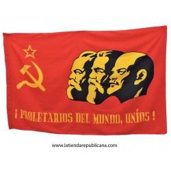 """Bandera """"Proletarios del mundo"""""""