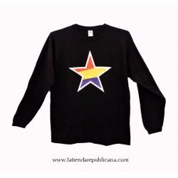 Camiseta Manga Larga Estrella Republicana