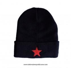 Gorro Lana Estrella Roja