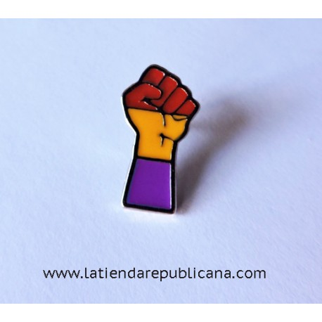 Pin Puño Republicano