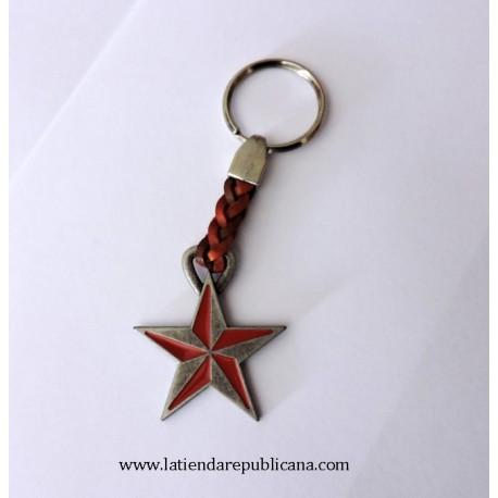 Llavero Estrella Revolucionaria