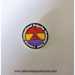 Pin Brigadas Internacionales Redondo
