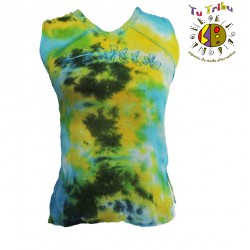 Top hippie tie and dye