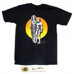 Camiseta chico m/c star wars surfer