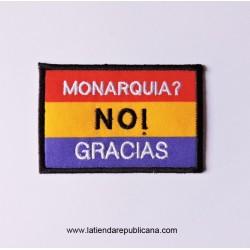 Parche Monarquía NO!