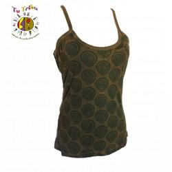 Camiseta tirantes espirales