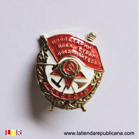 Insignia Orden Bandera Roja