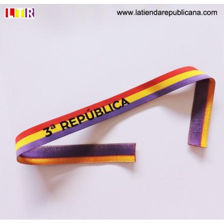 Pulsera cinta 3º República