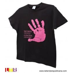 Camiseta No más Violencia