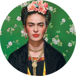 "Chapa ""Frida Kahlo"""