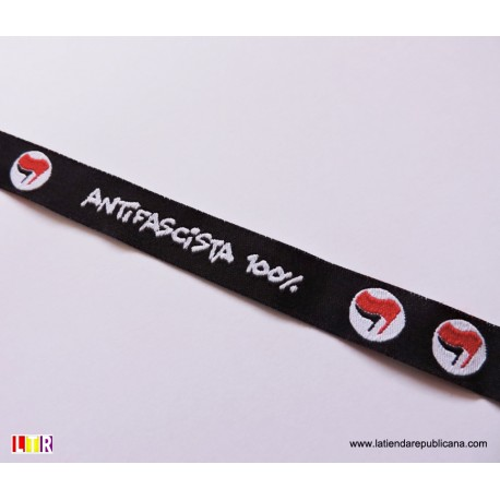 Pulsera cinta antifascista