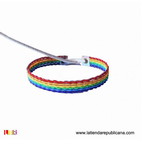 Pulsera LGTBI Hilo