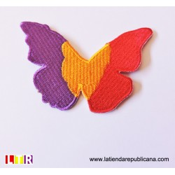 Parche Mariposa Republicana