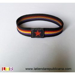 Pulsera Elástica Republicana (con estrella)