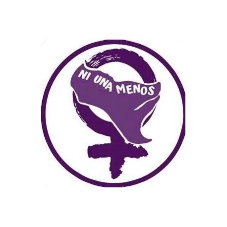 """Chapa Feminista """"Ni una menos"""""""
