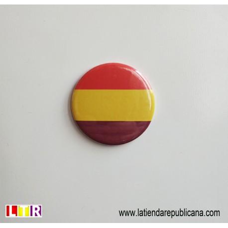 Imán Redondo Bandera Republicana
