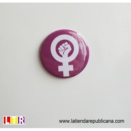 Imán Redondo Puño Feminista