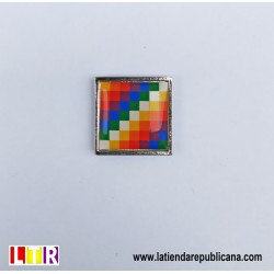 Pin Bandera Wiphala