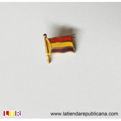 Pin original Segunda República Bandera