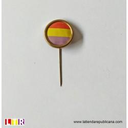 Pin original de la Segunda República aguja.