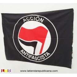 Bandera Acción Antifascista (Roja - Negra)
