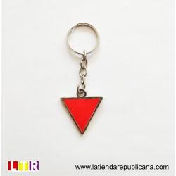 Llavero Triángulo Antifascista