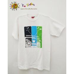 Camiseta Radiocassete