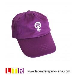 Gorra feminista deportiva (bordada)